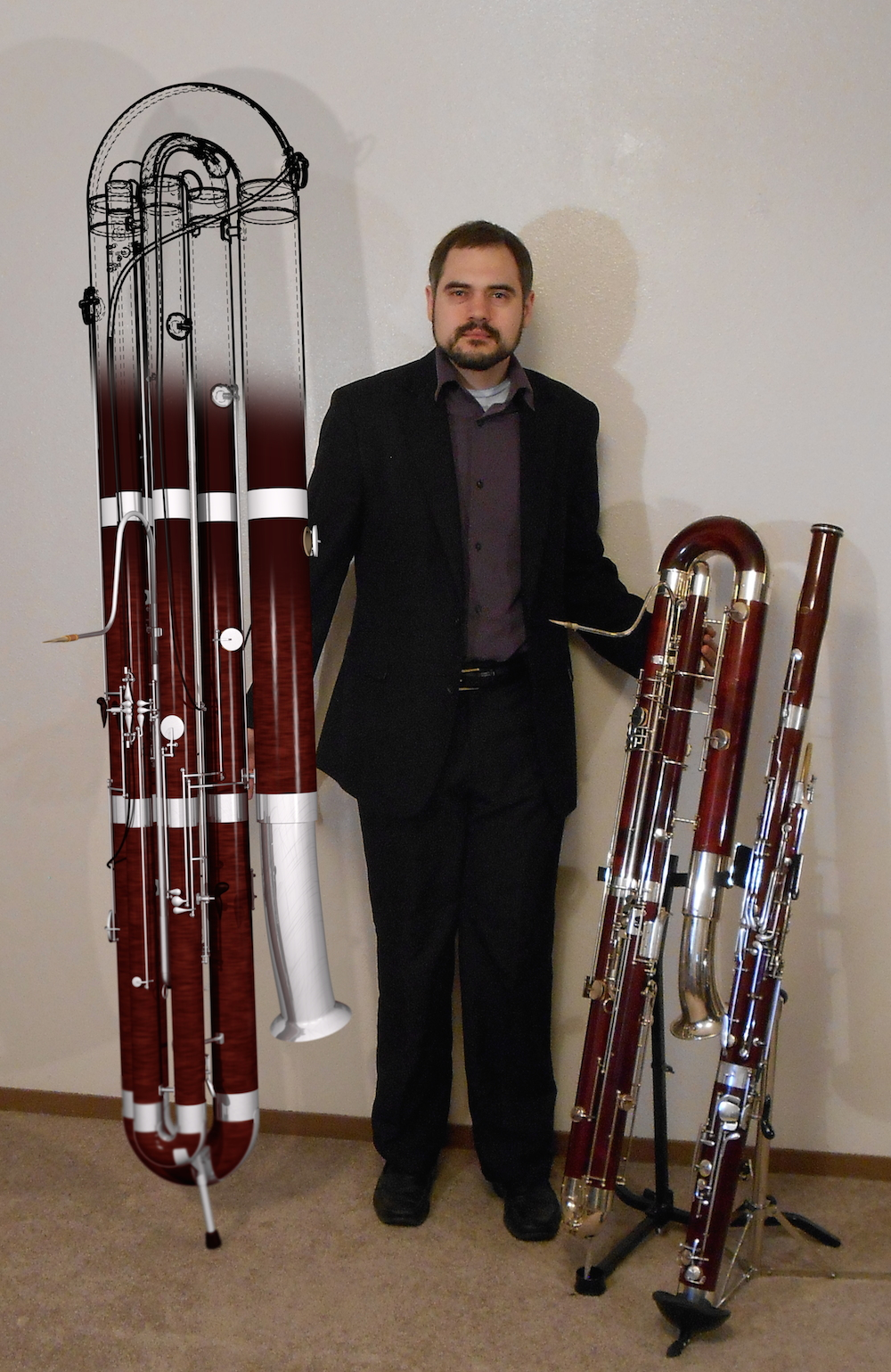 Bassoon Family with Subcontrabassoon